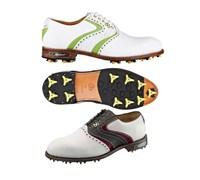 Stuburt Mens DCC Classic Golf Shoes (White/Black/Red)