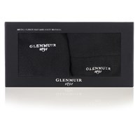 Glenmuir Mens Beanie Hat and Neck Warmer Golf Gift Box (Black)