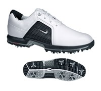 Nike Mens Zoom Trophy Golf Shoes (White/Metallic Silver/Black)