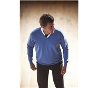 Stromberg Mens Riviera Cotton Golf Jumper 2014 (Blue)