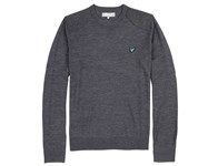 Lyle and Scott Mens Tweed Panel Sweater 2012