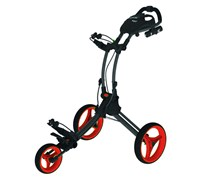 Rovic RV1C Trolley Cart By Clicgear (Charcoal/Red)