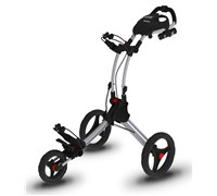Rovic RV1C Trolley Cart By Clicgear (Silver/Black)