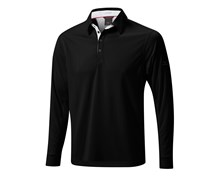 Mizuno Mens Thermal Performance Pique Shirt 2014 (Black)