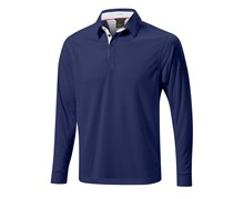 Mizuno Mens Thermal Performance Pique Shirt 2014 (Navy)