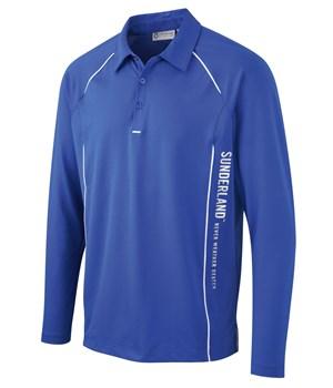 Sunderland Long Sleeved Golf Polo Shirt S M L Xl Xxl