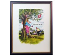 Bill Kimpton - Humorous Golf Prints (Same Time Next Week)
