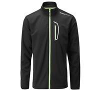 Stuburt Mens Sport Lite Full Zip Bonded Fleece 2014 (Black/White)