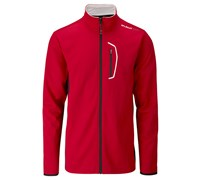 Stuburt Mens Sport Lite Full Zip Bonded Fleece 2014 (Poppy/Black)