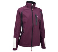 Stuburt Ladies Sport Waterproof Jacket (Mulberry/Black/White)