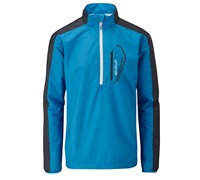 Stuburt Mens Sport Lite Half Zip Windshirt 2014 (Electric Blue/White)