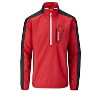 Stuburt Mens Sport Lite Half Zip Windshirt 2014 (Poppy/Black)
