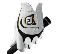 FootJoy Mens SciFlex Golf Gloves 2014 (White/Black)