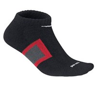 Nike Dri-Fit Performance No-Show Socks 2014 (Black/Red/Grey)