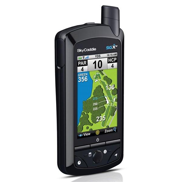 SkyGolf SkyCaddie SGXw GPS Review - YouTube