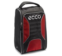 Ecco Golf Shoe Bag (Black/Red)