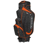 Ogio Shredder Golf Cart Bag 2014 (Griddle/Orange/Black)