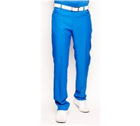 Stromberg Mens Sintra Technical Funky Golf Trouser (Cobalt/White)