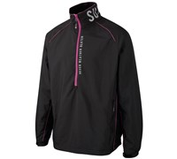 Sunderland Mens Sirocco Long Sleeve Windshirt (Black/Pink)