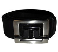 J Lindeberg Slater 40 2.0 Leather Belt 2013 (Black)