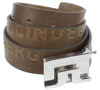 J Lindeberg Sloper Gloss Grain Belt (Brown)