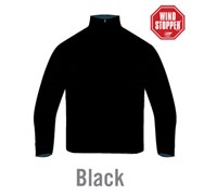 Sunice Mens Hayston 1/2 Zip Windstopper Sweater (Black)