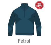 Sunice Mens Hayston 1/2 Zip Windstopper Sweater (Petrol)