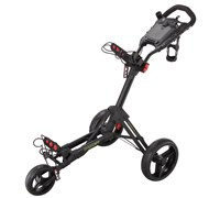 Big Max Smart Push Golf Trolley (Black)