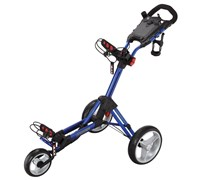 Big Max Smart Push Golf Trolley (Blue)