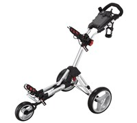 Big Max Smart Push Golf Trolley (Silver)