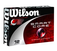 Wilson Smart-Core Straight Distance Golf Balls  12 Balls
