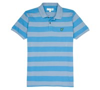 Lyle and Scott Mens Club Block Striped Polo Shirt 2014 (Bluebird)