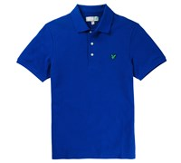 Lyle and Scott Mens Plain Polo Shirt 2014 (Duke Blue)