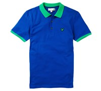 Lyle and Scott Mens Tour Polo Shirt 2014 (Duke Blue)