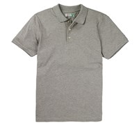 Lyle and Scott Mens Pique Polo Shirt 2014 (Grey)