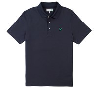 Lyle and Scott Mens Plain Polo Shirt (New Navy)