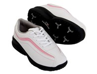 US Kids Girls Spiked Lace Golf Shoes