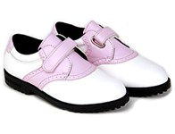 US Kids Girls Spikeless Velcro Golf Shoes