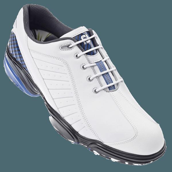 footjoy mens sport golf shoes white blue 2012 golfonline