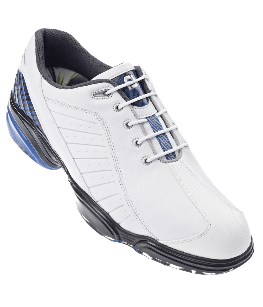 FootJoy Mens Sport Golf Shoes (White/Blue) 2012