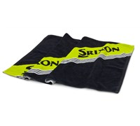 Srixon Golf Tour Towel (Black/Yellow)