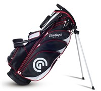 Cleveland Golf Stand Bag 2014 (Black/White/Red)