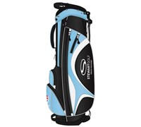 Stewart Golf S1 Superlight Stand Bag (Black/Blue)