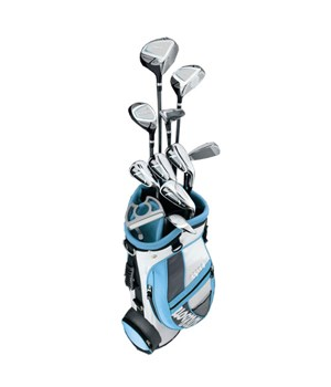 Wilson Ladies Stretch XL Golf Package Set (Graphite Shaft)