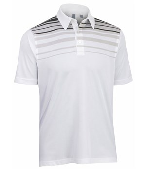 Ashworth Striped Print Polo 2012