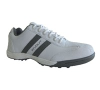 Stuburt Mens Urban 2 Spikeless Golf Shoes 2014 (White/Mercury)
