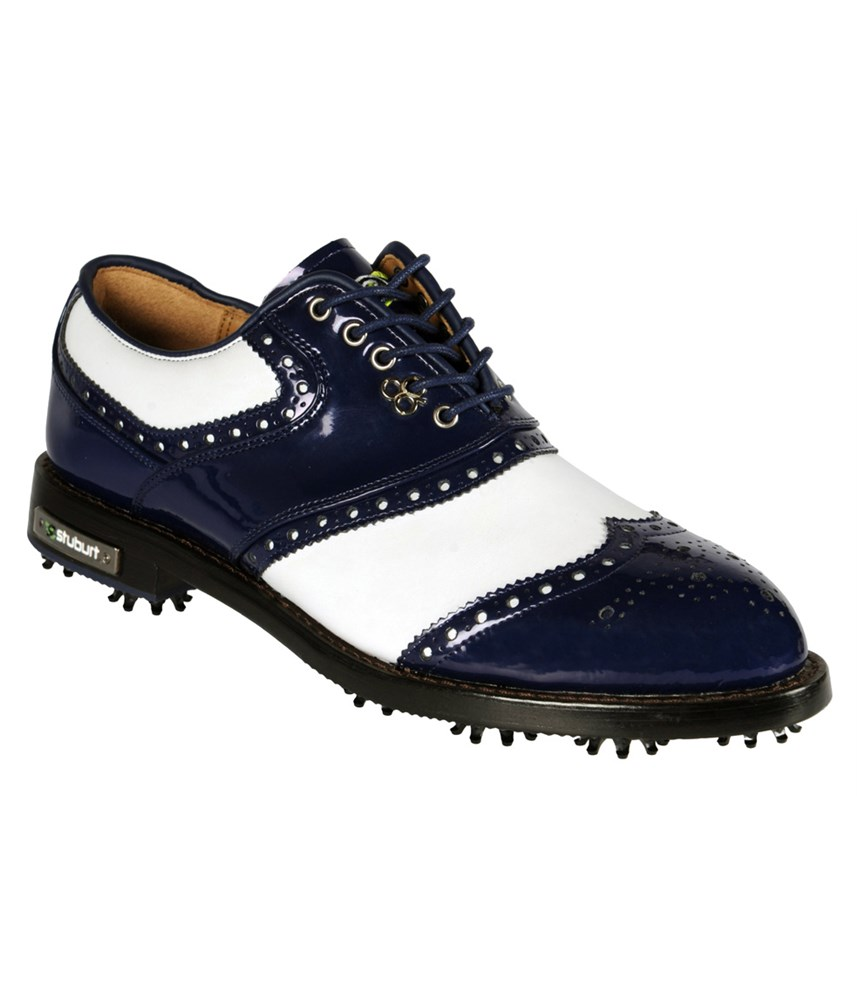 Classic White Golf Shoes