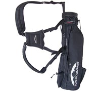 Sun Mountain X Strap Sunday Bag (Black)
