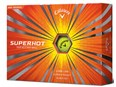 Callaway Superhot Yellow Golf Balls  12 Balls