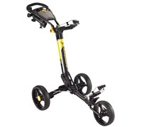 MD Golf Superstrong Deluxe Push Trolley Cart 2014 (Black/Yellow)